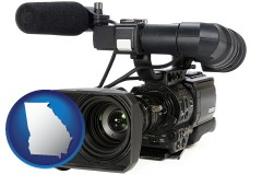georgia a professional-grade video camera