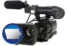 iowa a professional-grade video camera
