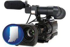 indiana a professional-grade video camera