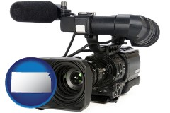 kansas a professional-grade video camera