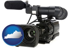 kentucky a professional-grade video camera
