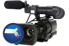 massachusetts a professional-grade video camera