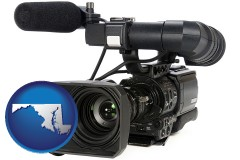 maryland a professional-grade video camera