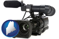 maine a professional-grade video camera