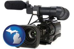 michigan a professional-grade video camera