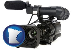 minnesota a professional-grade video camera