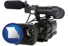 missouri a professional-grade video camera