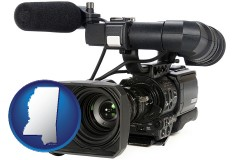 mississippi a professional-grade video camera