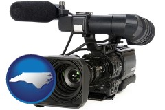 north-carolina a professional-grade video camera