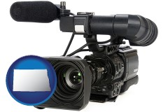 north-dakota a professional-grade video camera