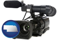 nebraska a professional-grade video camera