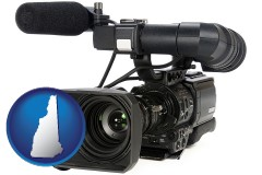 new-hampshire a professional-grade video camera