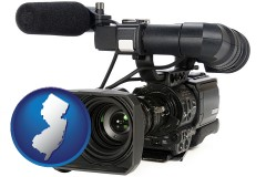 new-jersey a professional-grade video camera
