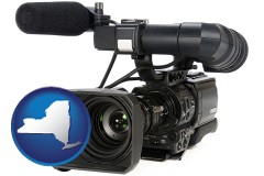 new-york a professional-grade video camera