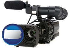 pennsylvania a professional-grade video camera