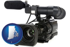 rhode-island a professional-grade video camera