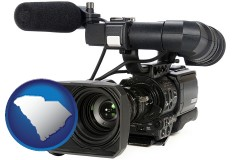south-carolina a professional-grade video camera