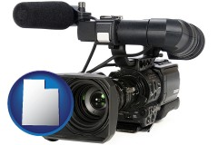 utah a professional-grade video camera