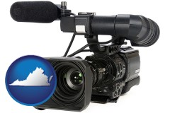 virginia a professional-grade video camera