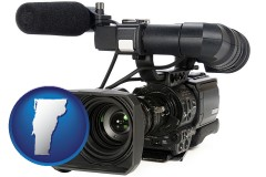 vermont a professional-grade video camera