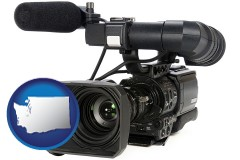 washington a professional-grade video camera