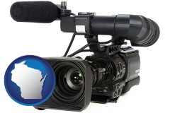 wisconsin a professional-grade video camera