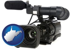 west-virginia a professional-grade video camera