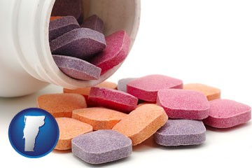 chewable vitamins - with Vermont icon