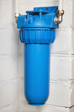 a water treatment filter