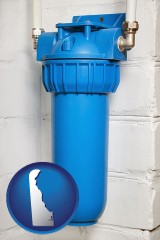 delaware a water treatment filter