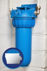 iowa a water treatment filter