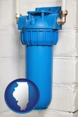 illinois a water treatment filter