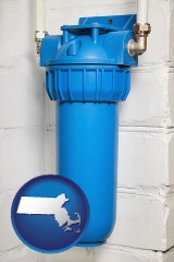 massachusetts a water treatment filter