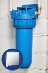 new-mexico a water treatment filter